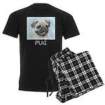 Pug Men's Dark Pajamas