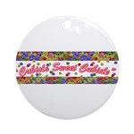 Cubicle Sweet Cubicle Ornament (Round)