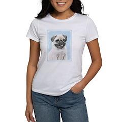 Pug Women's Classic White T-Shirt