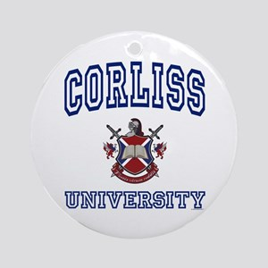 CORLISS University Ornament (Round)