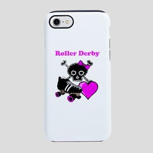 Roller Derby Heart (Pink) iPhone 7 Tough Case