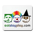Halloween Eat Stay Play Mousepad
