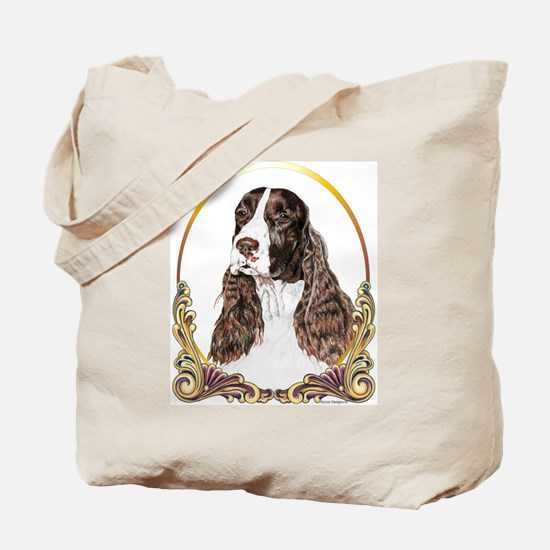 English Springer Spaniel Christmas Tote Bag