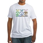 Easter - Eat Stay Play Fitted T-Shirt