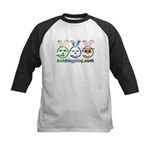 Easter - Eat Stay Play Kids Baseball Jersey