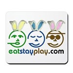Easter - Eat Stay Play Mousepad