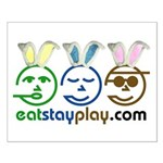 Easter - Eat Stay Play Small Poster