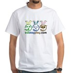 Easter - Eat Stay Play White T-Shirt