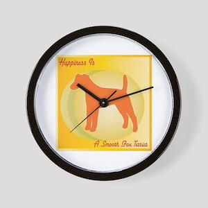 Foxie Happiness Wall Clock