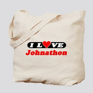 I Love Johnathon Tote Bag