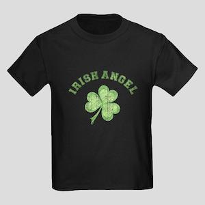 Irish Angel Kids Dark T-Shirt
