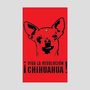 Chihuahua Revolution! Rectangle Sticker