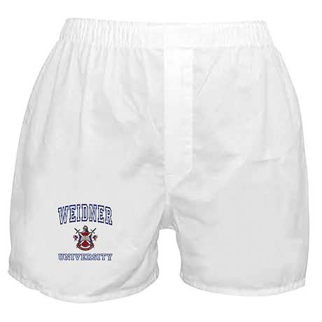 WEIDNER University Boxer Shorts