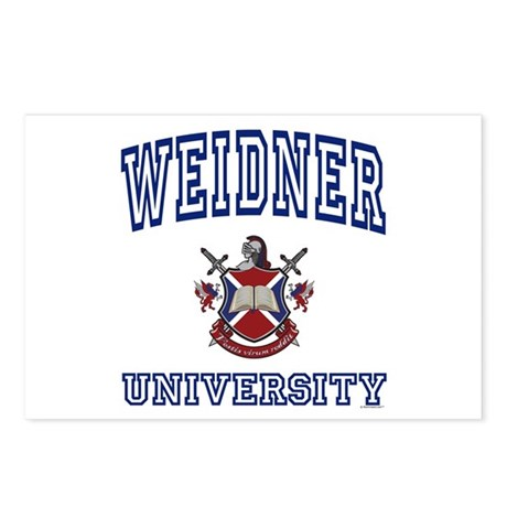 WEIDNER University Postcards (Package of 8)
