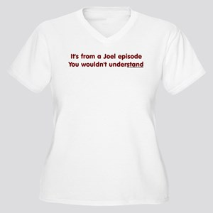 Joel Episode Women's Plus Size V-Neck T-Shirt