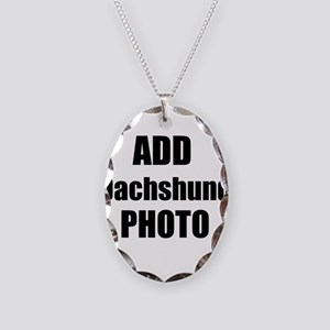 Add Dachshund Photo Necklace