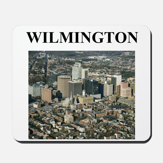 wilmington gifts and t-shirts Mousepad