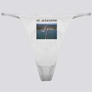 st. augustine gifts and t-shi Classic Thong