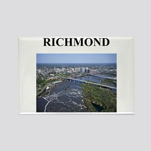 richmond gifts and t-shirts Rectangle Magnet
