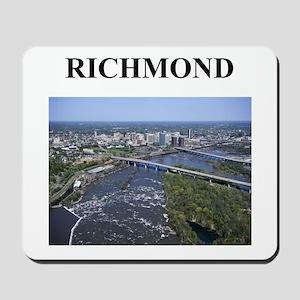 richmond gifts and t-shirts Mousepad
