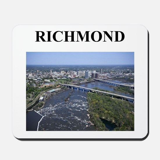 richmond gifts and t-shirts Mousepad