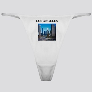 los angeles gifts and t-shirt Classic Thong