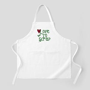 Love to Scrapbook - Heart Flo BBQ Apron