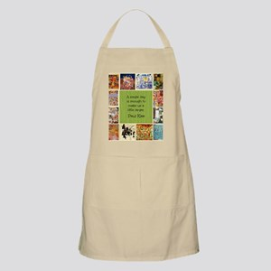 Paul Klee Art Collage and Quotation Apron