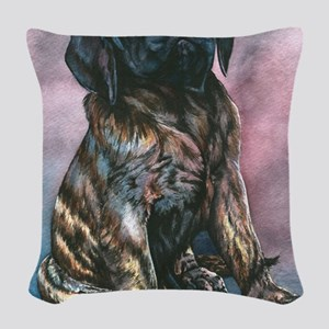 Julrees Ruby Cascade Woven Throw Pillow