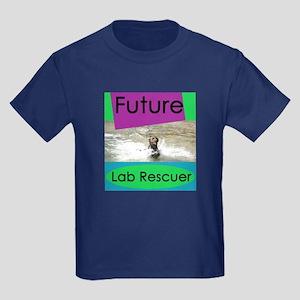 Future Lab Rescuer Kids Dark T-Shirt