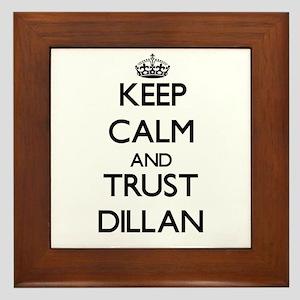 Keep Calm and TRUST Dillan Framed Tile