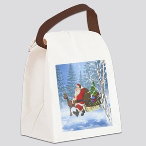 sic_shower_curtain Canvas Lunch Bag