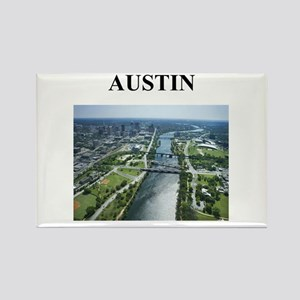 austin gifts and t-shirts! Rectangle Magnet
