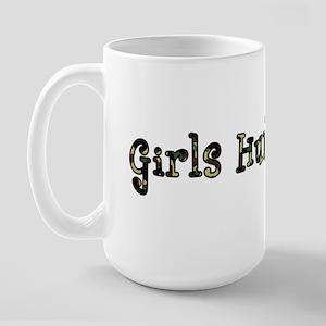 Girls Hunt Too Large Mug