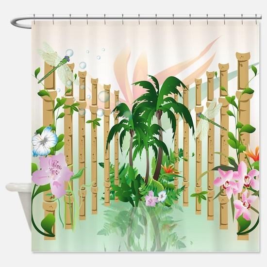 Beautiful Flowers Shower Curtain