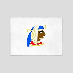 African Egyptian girl 5'x7'Area Rug