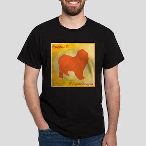 Lagotto Happiness Dark T-Shirt