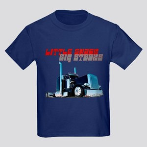 Little Shack Big Stacks Kids Dark T-Shirt
