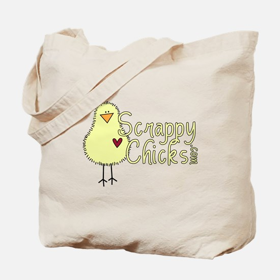 Scrappy Chicks 2 Tote Bag