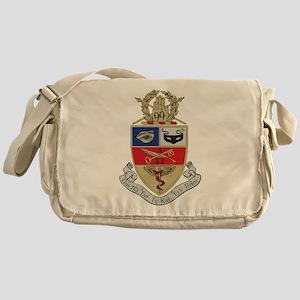 Kappa Psi Crest Messenger Bag