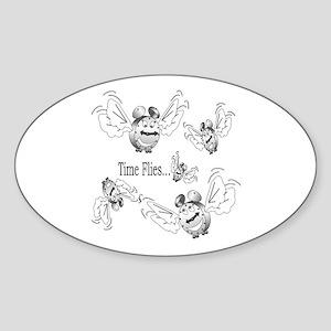 NEW! Oval Sticker