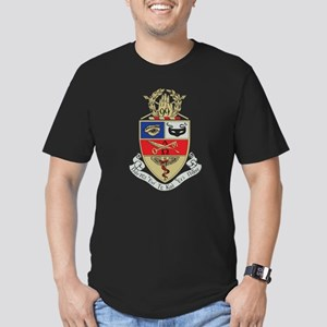 Kappa Psi Crest Men's Fitted T-Shirt (dark)