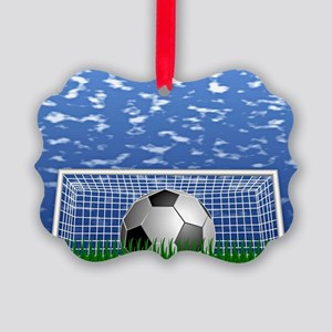 Soccer Time Picture Ornament