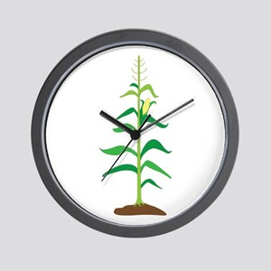 Corn Stalk Wall Clock