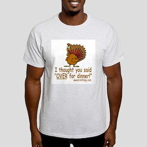 Thanksgiving Dinner Light T-Shirt