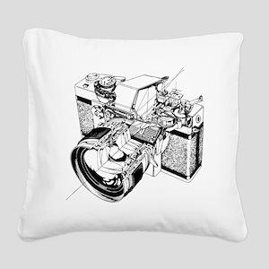 Topcon Cutaway Square Canvas Pillow