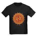 Celtic Knotwork Sun Kids Dark T-Shirt