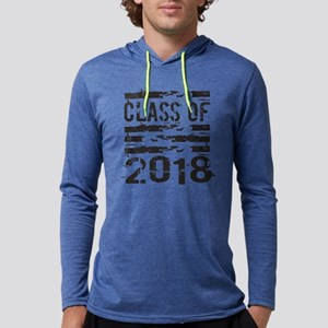 Cool Class of 2018 Mens Hooded Shirt