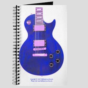 """""""Neon Blue"""" Guitar Journal"""