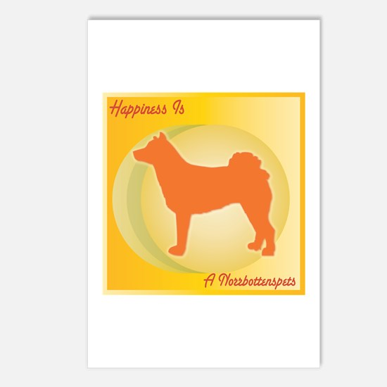 Norrbottenspets Happiness Postcards (Package of 8)